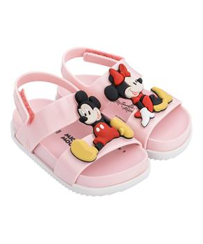 MINI COSMIC SANDAL + DISNEY TWIN Pink/white