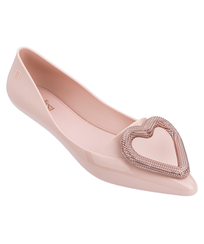 POINTY HEART ROSE GOLD