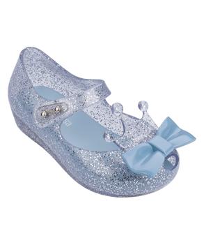 MINI ULTRAGIRL PRINCESS ME BB Silver Glitter Clear Blue