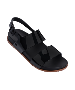 COSMIC SANDAL III BLACK BROWN