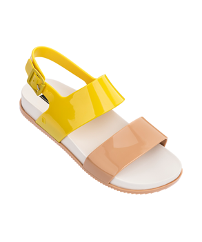 COSMIC SANDAL III  BEIGE YELLOW