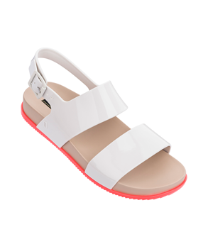 COSMIC SANDAL III  WHITE ORANGE