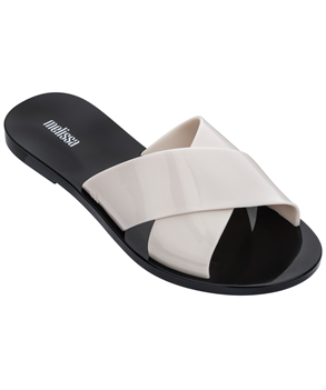 ESSENTIAL SLIDE Black Beige