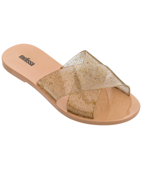 ESSENTIAL SLIDE Beige Gold