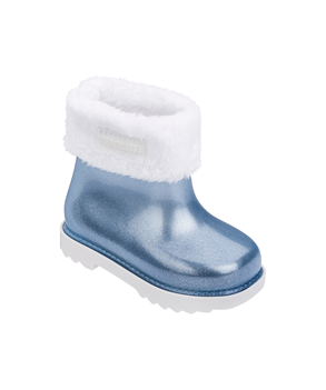 MINI WINTER BOOT  WHITE BLUE