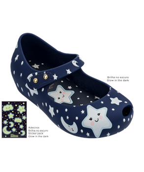 MINI MELISSA ULTRAGIRL SWEET DREAMS  Navy