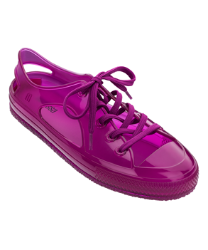 MELISSA IN LOVE LOW Purple Clear