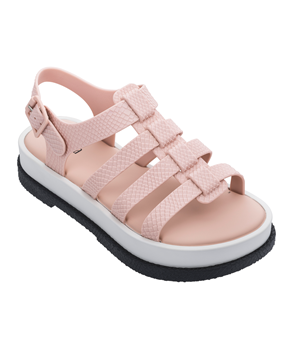 MELISSA FLOX III SNAKE  Pink/White