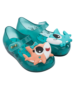 MINI MELISSA UTRAGIRL SHARK  Blue Orange