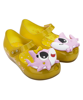 MINI MELISSA UTRAGIRL SHARK Yellow
