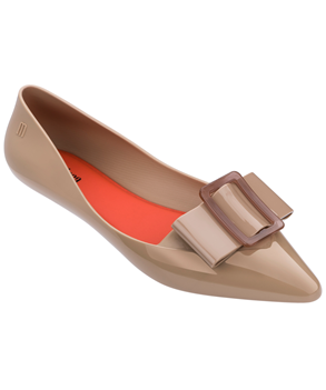 MELISSA POINTY III AD Beige Red