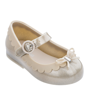 MINI MELISSA SWEET LOVE II Beige Glitter