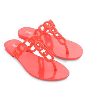 MELISSA BIG CHAIN Pink Neon