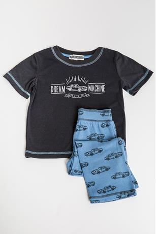 TODDLER BOY'S DREAM CAR PJ SET