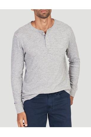 SLUB COTTON HENLEY