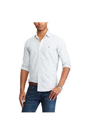 CLASSIC FIT STRIPPED OXFORD SHIRT