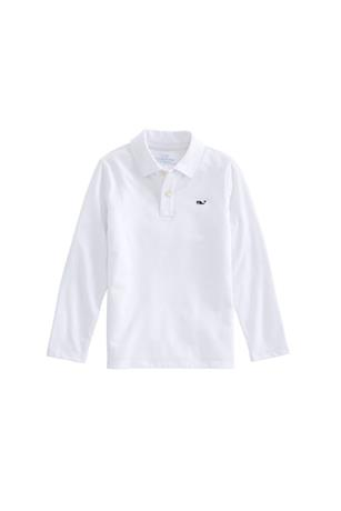 BOYS LONG SLEEVE EDGARTOWN POLO