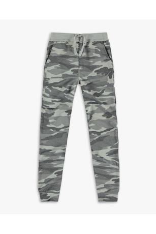 GIRL'S CAMO FRENCH TERRY JOGGER