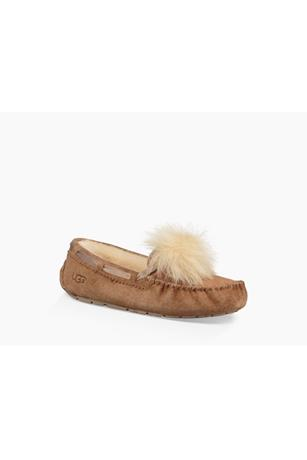 WOMEN'S DAKOTA POM POM-SLIPPER
