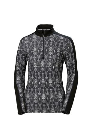 WOMENS LIFA MERINO GRAPHIC 1/2 ZIP UP