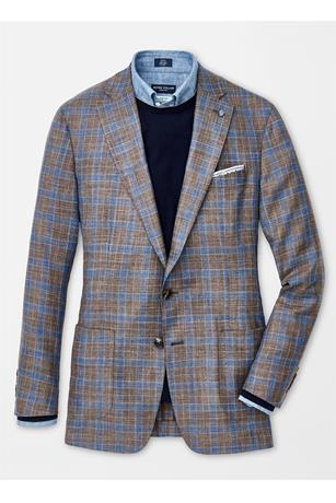 COLLECTION KRUGER PLAID SOFT JACKET