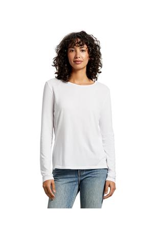 LESLIE RELAXED CREW TEE
