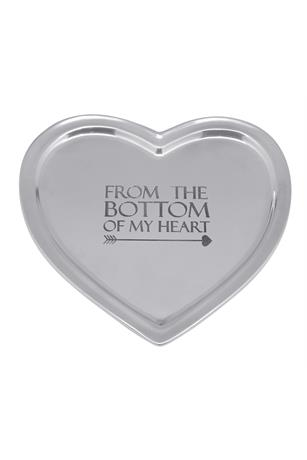 FROM THE BOTTOM OF MY HEART SIGNATURE HEART TRAY