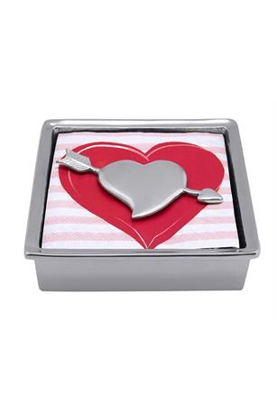 CUPID HEART SIGNATURE NAPKIN BOX
