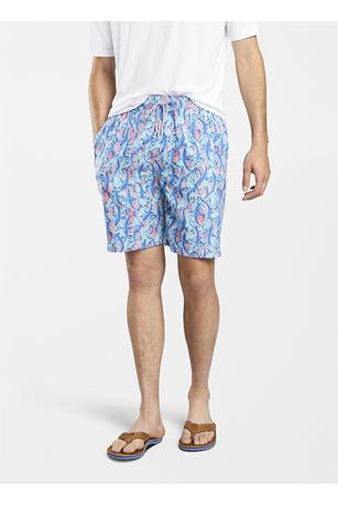 SEASIDE SHARKS SWIM TRUNK