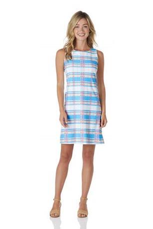 Beth Dress  Jude Cloth - Summer Plaid