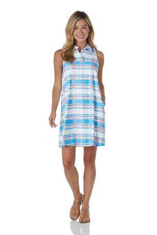 Harlee Dress  Jude Cloth - Summer Plaid