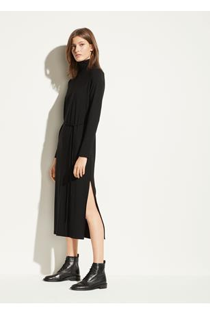 L/S TURTLENECK DRESS