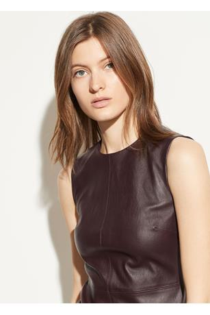 LEATHER DRESS