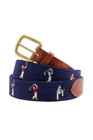 Mulligan  Needlepoint Belt
