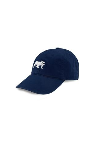 Bulldog Needlepoint Hat