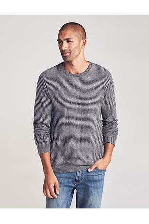 LUXE HEATHER REVERSIBLE CREW
