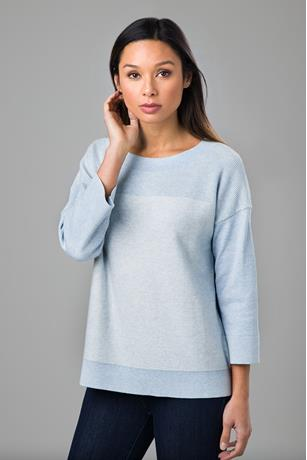 PLAITED EASY PULLOVER