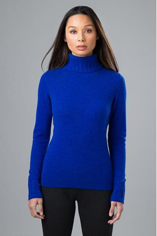 CHUNKY TRIM TURTLENECK