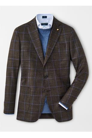 HUNT WINDOWPANE SOFT JACKET