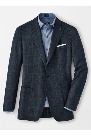 WELLINGTON WINDOWPANE SOFT JACKET
