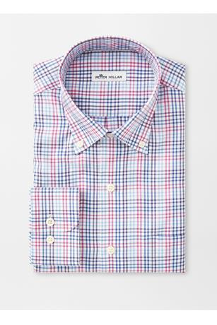 CROWN SOFT MANCHESTER MULTI-GINGHAM SPORT SHIRT