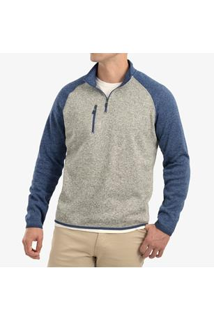 ALBERTA 1/4 ZIP FLEECE PULLOVER