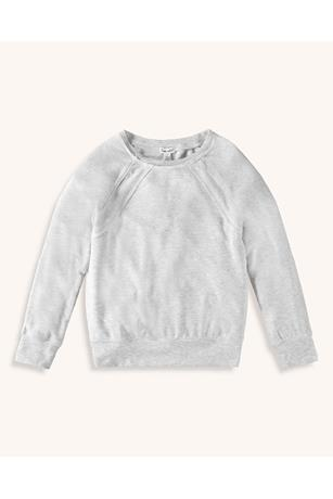 GIRLS STITCHED PULLOVER SWEATER