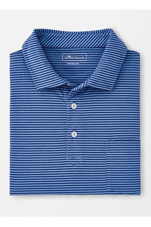 SEASIDE COTTON ARCATA STRIPE POLO