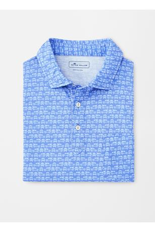 AQUA COTTON SCOUT POLO