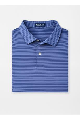 COLTRANE STRIPE STRETCH JERSEY POLO