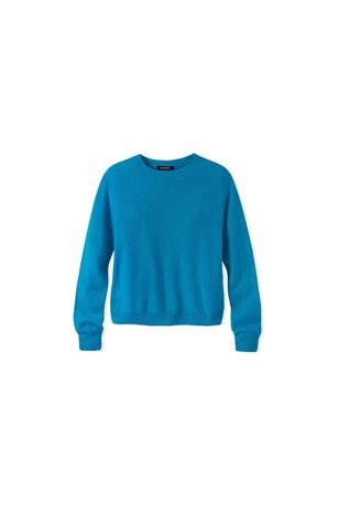 GIRL'S CASHMERE CREW SWEATER
