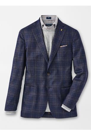 PATRON PLAID SOFT JACKET