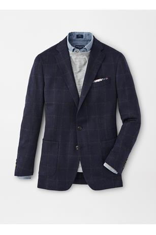 SAVOIE WINDOWPANE SOFT JACKET
