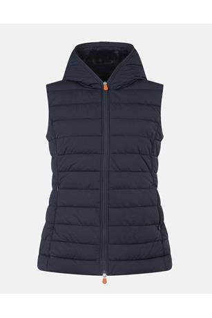 GIRLS ANGY VEST WITH HOOD